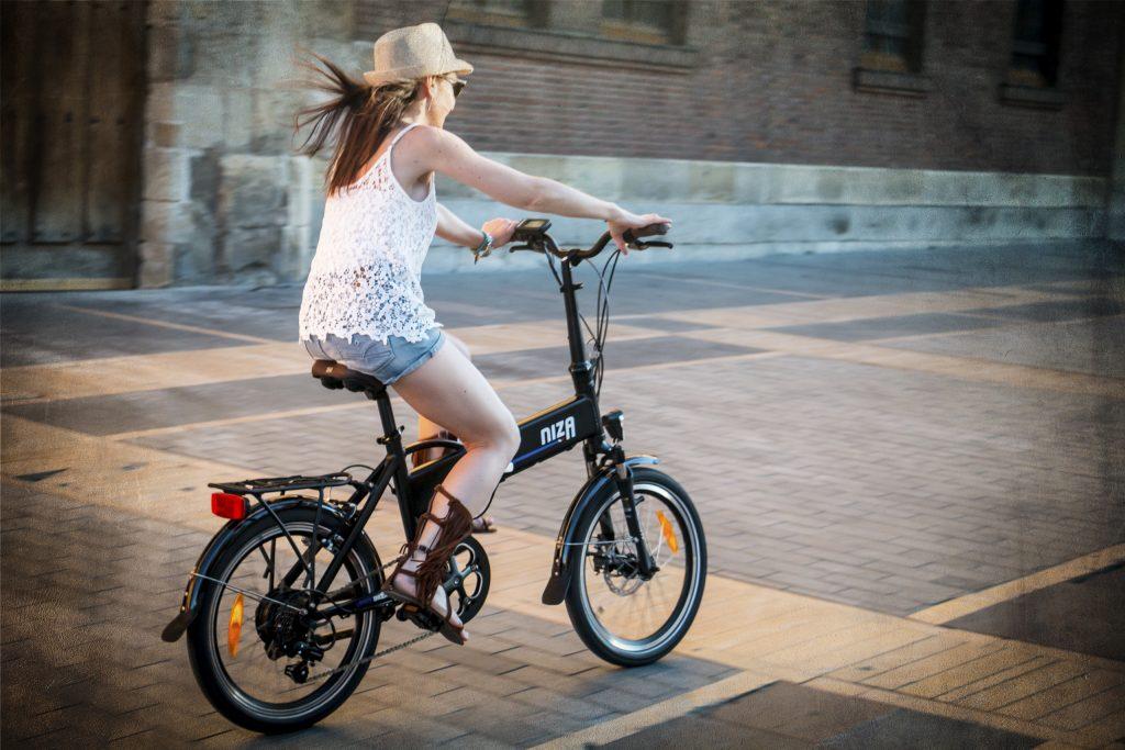 vélo pliant électique