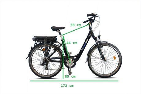 sidney measures vélo électrique