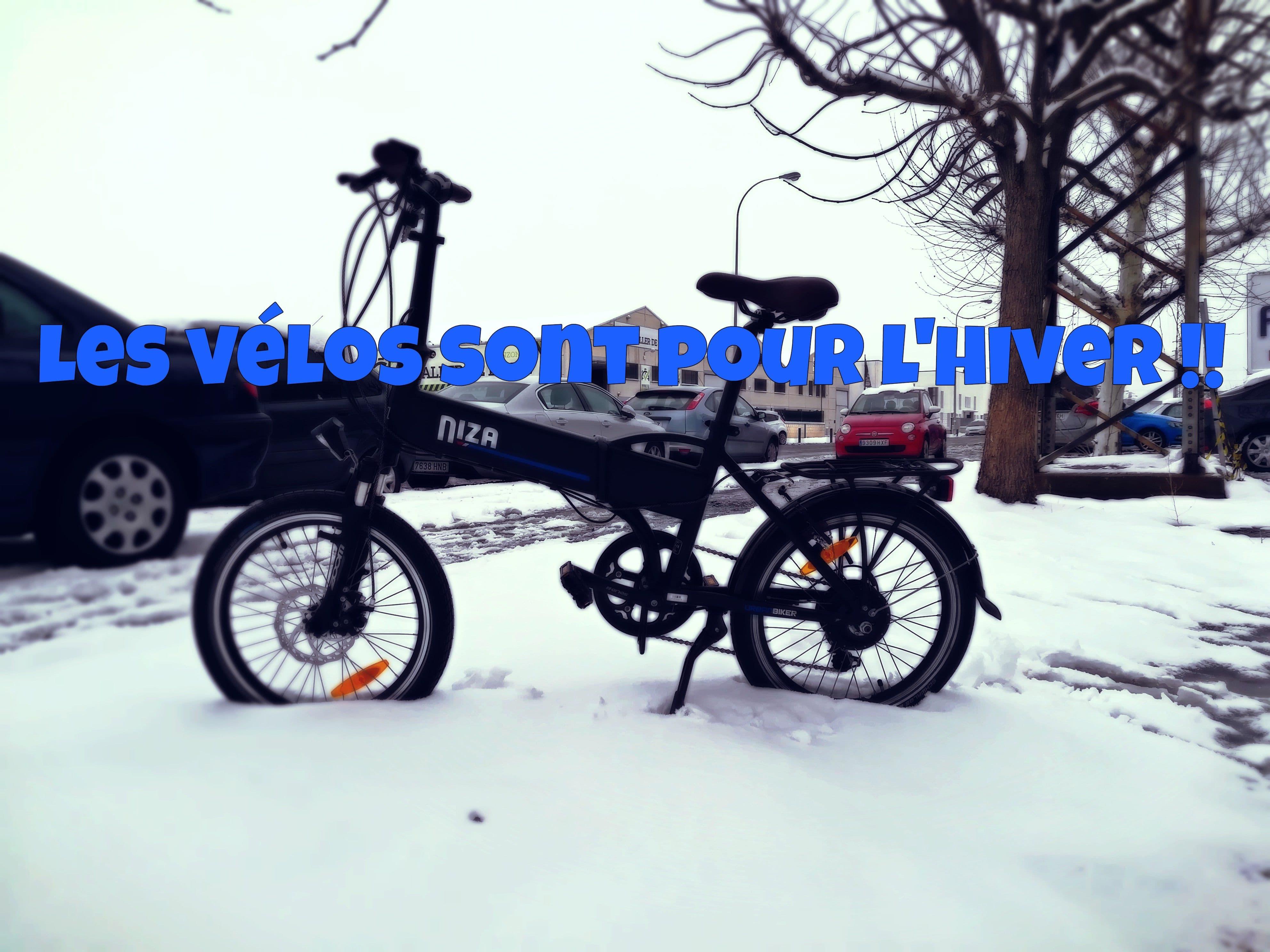 niza vélo électrique et neige ebikestock