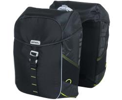Basil Miles Doppelte Gepäckträgertasche