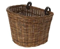 panier rotin vélo Basil Darcy
