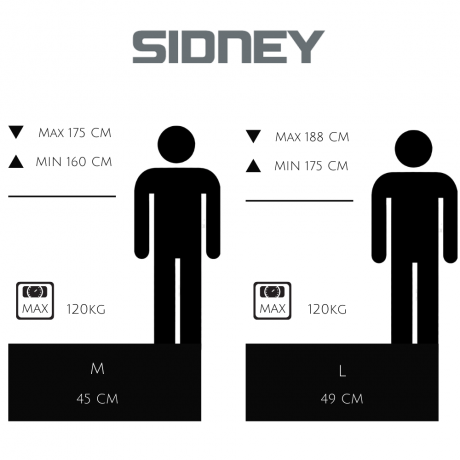 guide de tailles Sidney VAE