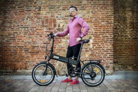 NIZA vélo électrique pliant