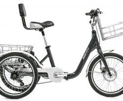 monty tricycle électrique noir
