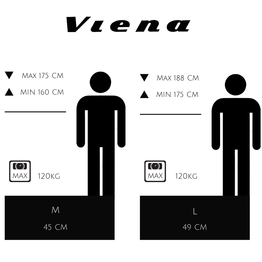guide taille VIENA VAE