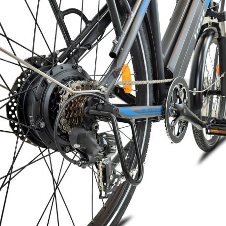 Détail roue Hutchinson Viena vélo électrique bleu