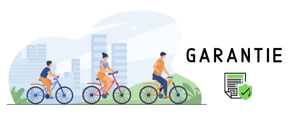 Garantíe EBIKESTOCK vélos électriques