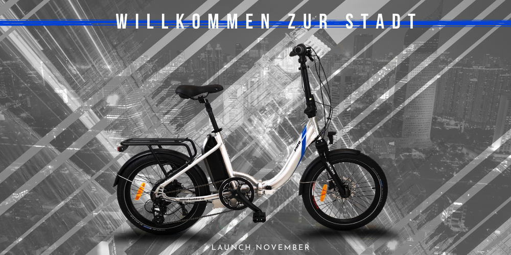 Mini E-Bike, E-Faltrad, Klapprad