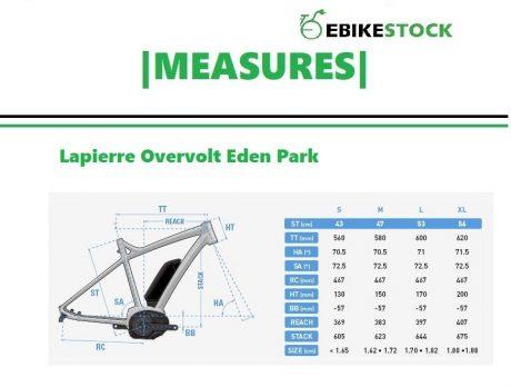 MEASURES lapierre overvolt eden park-vélo électrique
