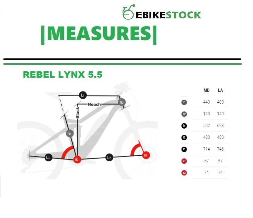 MEASURES rebel lynx 5.5 vélo éelctrique