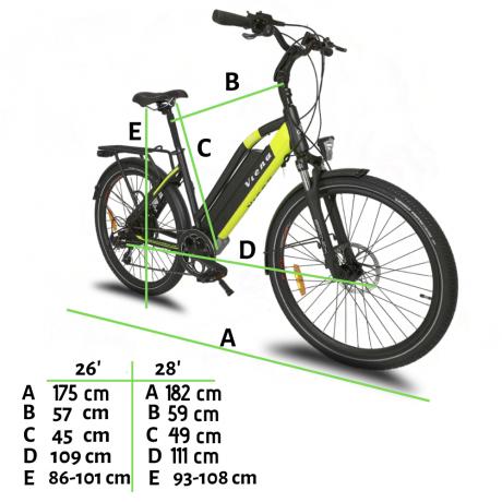 Measures Viena vélo électrique