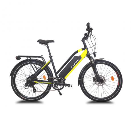 Viena vélo électrique jaune frontal