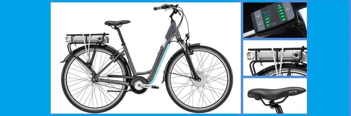 vélo électrique ville lapierre