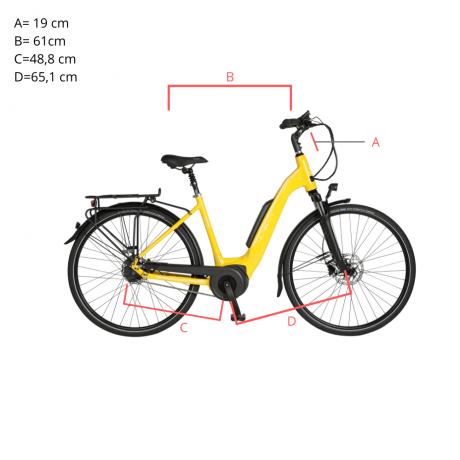 AEB400 Trekking E Bike