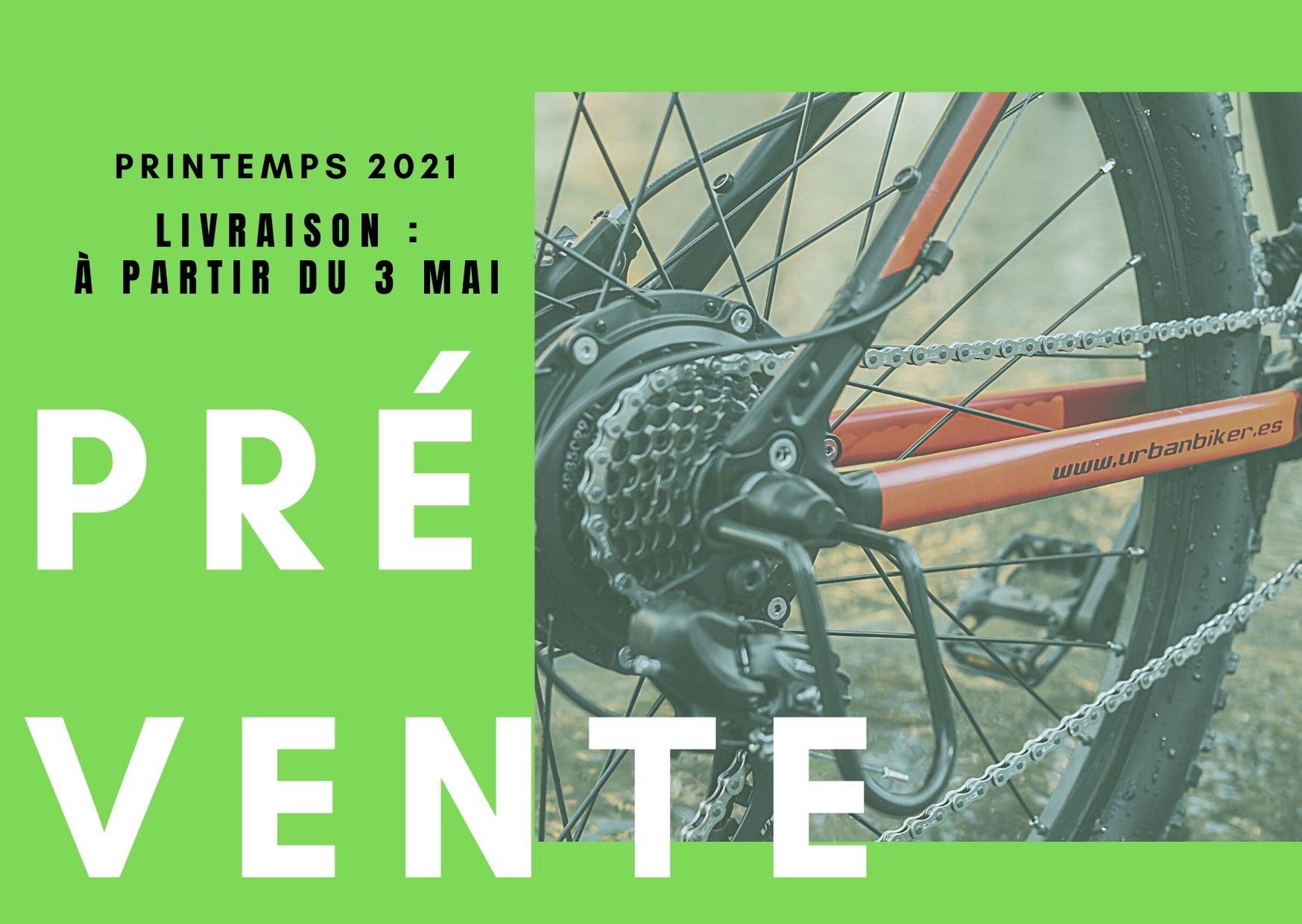 Réservez votre VAE Urbanbiker