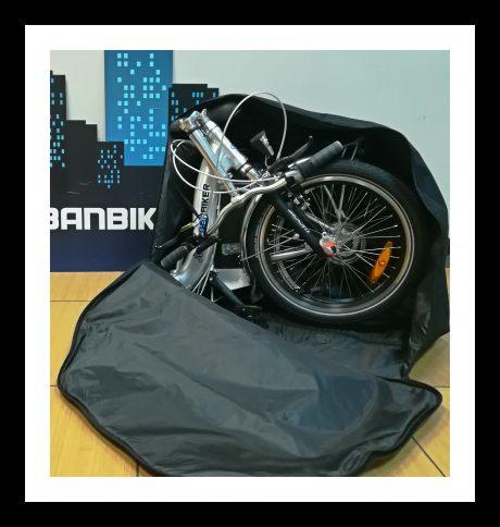sac-ouvert pour vélo électrique pliant
