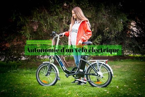 vélo électrique autonomie